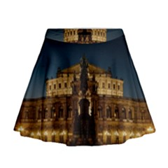 Dresden Semper Opera House Mini Flare Skirt
