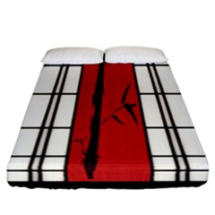 Shoji   Bamboo Fitted Sheet (california King Size) by Tatami