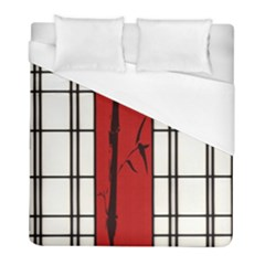 Shoji   Bamboo Duvet Cover (full/ Double Size) by Tatami