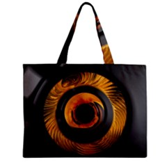 Fractal Mathematics Abstract Zipper Mini Tote Bag by Amaryn4rt