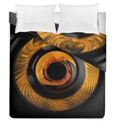 Fractal Mathematics Abstract Duvet Cover Double Side (queen Size) by Amaryn4rt