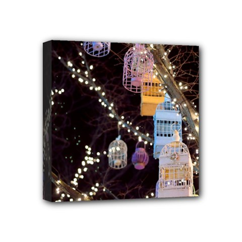 Qingdao Provence Lights Outdoors Mini Canvas 4  X 4  by Amaryn4rt