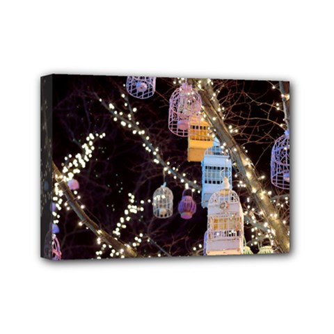 Qingdao Provence Lights Outdoors Mini Canvas 7  X 5  by Amaryn4rt
