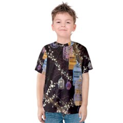 Qingdao Provence Lights Outdoors Kids  Cotton Tee by Amaryn4rt