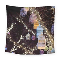 Qingdao Provence Lights Outdoors Square Tapestry (large)