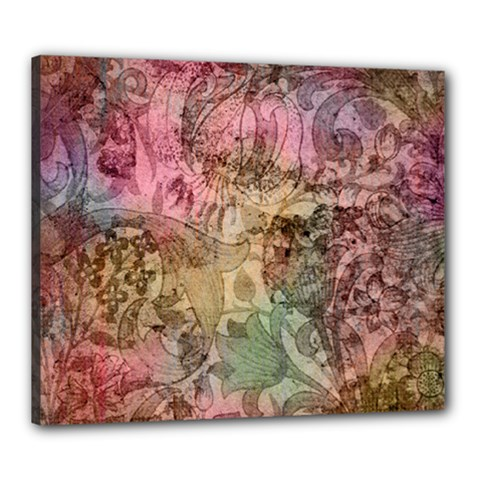 Texture Background Spring Colorful Canvas 24  X 20