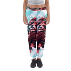 Wallpaper Background Watercolors Women s Jogger Sweatpants by Amaryn4rt