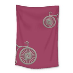Rose Pink Fushia Small Tapestry by AnjaniArt