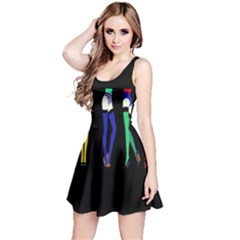 Sexy Collective Artists Reversible Sleeveless Dress by AnjaniArt