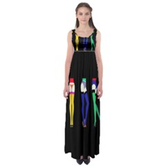 Sexy Collective Artists Empire Waist Maxi Dress by AnjaniArt