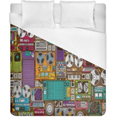 Rol The Film Strip Duvet Cover (california King Size) by AnjaniArt