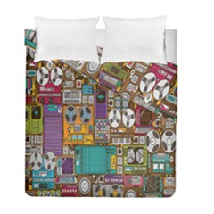 Rol The Film Strip Duvet Cover Double Side (full/ Double Size) by AnjaniArt