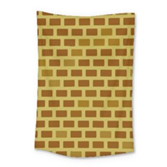 Tessellated Rectangles Lined Up As Bricks Small Tapestry