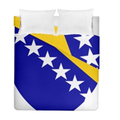 Coat Of Arms Of Bosnia And Herzegovina Duvet Cover Double Side (full/ Double Size)