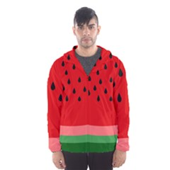 Watermelon  Hooded Wind Breaker (men)