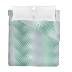 Background Bubblechema Perforation Duvet Cover Double Side (full/ Double Size)