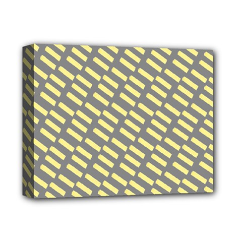 Yellow Washi Tape Tileable Deluxe Canvas 14  X 11  by Jojostore