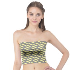 Yellow Washi Tape Tileable Tube Top