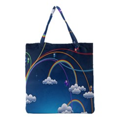 Rainbow Grocery Tote Bag