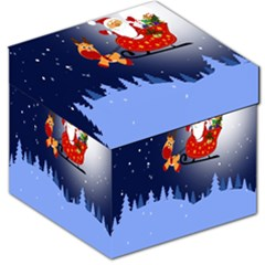 Santa Clause Storage Stool 12