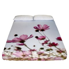 Flowers Plants Korea Nature Fitted Sheet (california King Size)