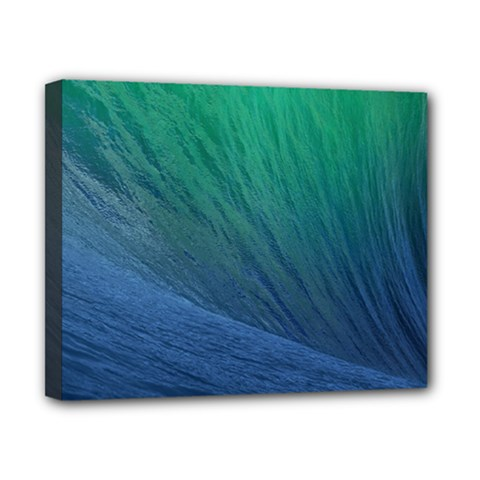 Sea Wave Water Blue Canvas 10  X 8  by Jojostore