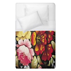 Ultra Texture Flowers Duvet Cover (single Size) by Jojostore