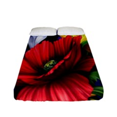 Flowers Bouquet Fitted Sheet (full/ Double Size)