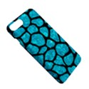 SKIN1 BLACK MARBLE & TURQUOISE MARBLE Apple iPhone 7 Plus Hardshell Case View5