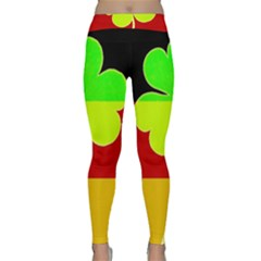 Irish German Germany Ireland Funny St Patrick Flag Classic Yoga Leggings
