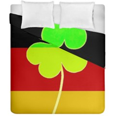 Irish German Germany Ireland Funny St Patrick Flag Duvet Cover Double Side (california King Size)