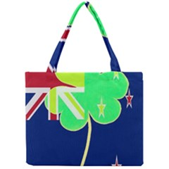 Irishshamrock New Zealand Ireland Funny St Patrick Flag Mini Tote Bag by yoursparklingshop