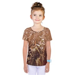 Ice Iced Structure Frozen Frost Kids  One Piece Tee