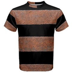 Stainless Rust Texture Background Men s Cotton Tee