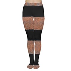 Stainless Rust Texture Background Women s Tights by Amaryn4rt