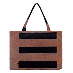 Stainless Rust Texture Background Medium Tote Bag by Amaryn4rt