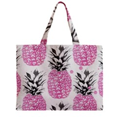 Lovely Pink Pineapple  Mini Tote Bag by Brittlevirginclothing