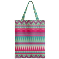 Gorgeous Colorful Pink Bohemian  Classic Tote Bag by Brittlevirginclothing