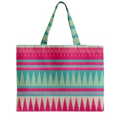 Gorgeous Colorful Pink Bohemian  Medium Tote Bag by Brittlevirginclothing