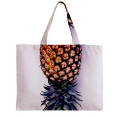 La Pina Pineapple Medium Zipper Tote Bag by Brittlevirginclothing