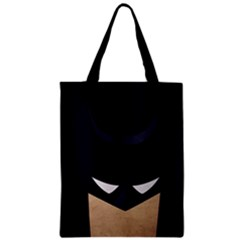 Batman Zipper Classic Tote Bag by Brittlevirginclothing