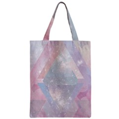 Colorful Pastel Crystal Zipper Classic Tote Bag by Brittlevirginclothing