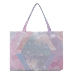 Colorful Pastel Crystal Medium Tote Bag by Brittlevirginclothing