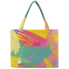 Colorful Paint Brush  Mini Tote Bag by Brittlevirginclothing