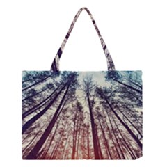 Lovely Up View Forest  Medium Tote Bag by Brittlevirginclothing
