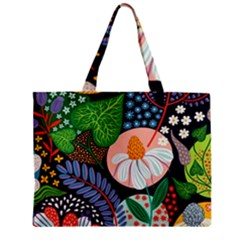 Japanese Inspired  Zipper Mini Tote Bag by Brittlevirginclothing