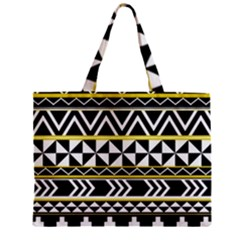 Black Bohemian Zipper Mini Tote Bag by Brittlevirginclothing