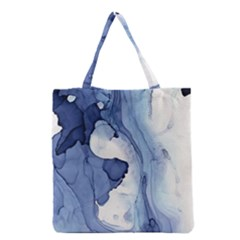 Paint In Water Grocery Tote Bag by Brittlevirginclothing