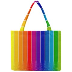 Fading Rainbow Mini Tote Bag by Brittlevirginclothing