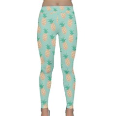 Cute Pineapple Classic Yoga Leggings by Brittlevirginclothing